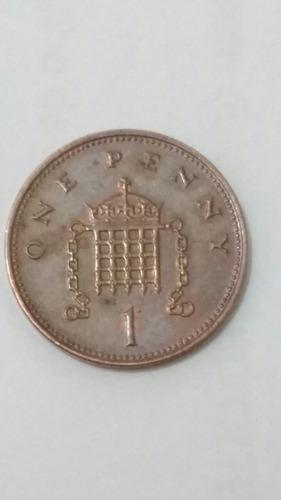 moeda one penny  1999