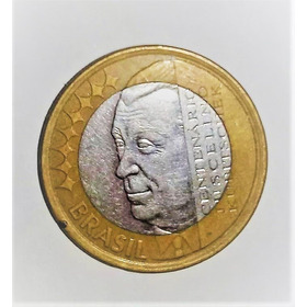 Moeda Rara De R$ 1 Real- Juscelino Kubitscheck