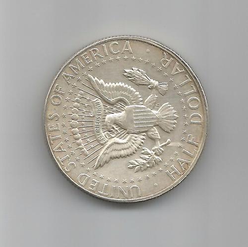 moeda - united states - half dollar - 1967 - km# kennedy