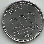 moeda,.200 cruzeiros 1986