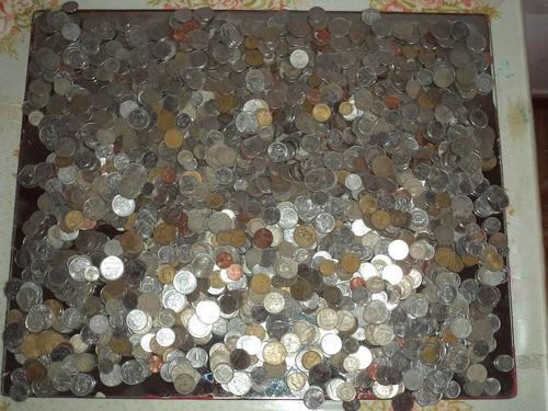 moedas antigas e estrangeiras para coleção  1 real a unidade