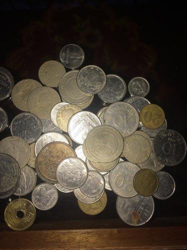 moedas colecionáveis desde 1889. réis , cruzeiro e real.
