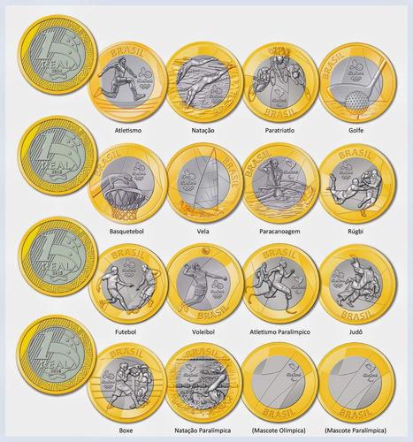 moedas das com coleção das