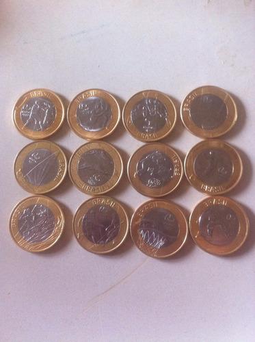 moedas das olimpíadas rio 2016 avulsas