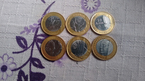 moedas das olimpíadas, uma do banco do brasil 50 anos
