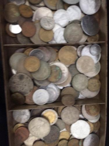 moedas internacionais e nacionais antigas
