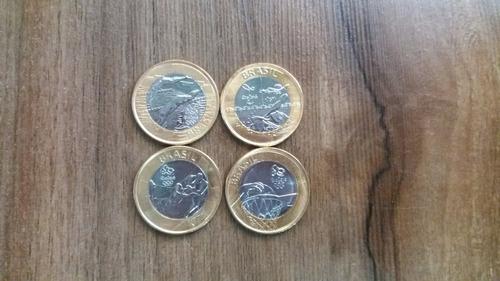 moedas olimpiadas 2016 todas conservadas