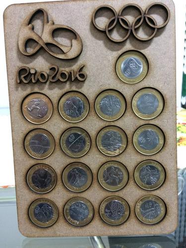 moedas olimpicas coleção completa