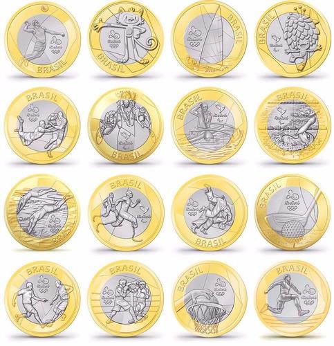moedas olímpicas rio 2016