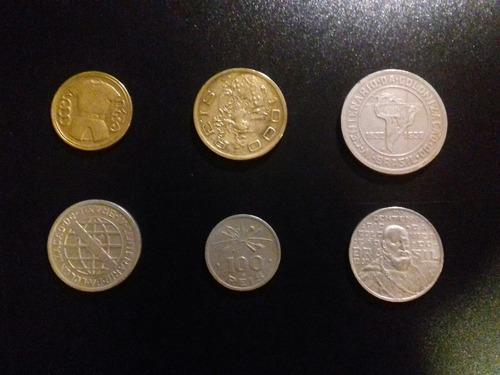 moedas série vicentina