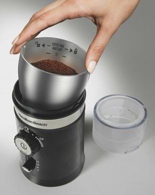 moedor café ajustável hamilton beach- 127 v