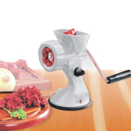 moedor de carnes modelador de biscoitos, croquete e linguiça
