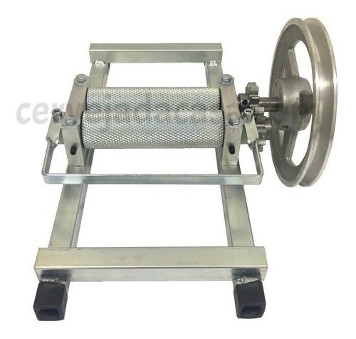 moedor de malte - moinho de 2 rolos reforçado p/ motorizar