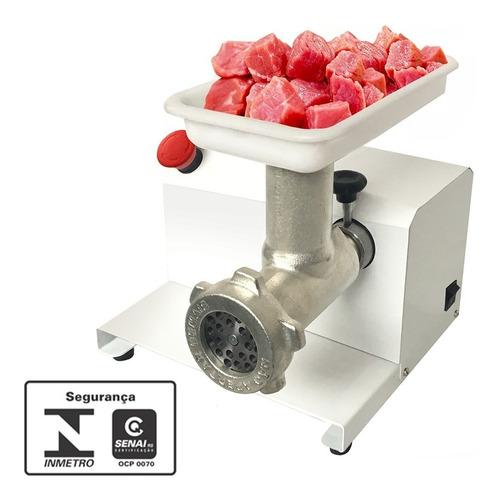 moedor elétrico de carne linguiça 3000 watts industrial