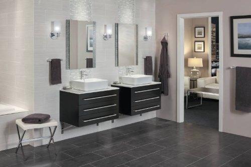 moen yb0424ch alinear 24 pulgadas baño toalla bar , cromo