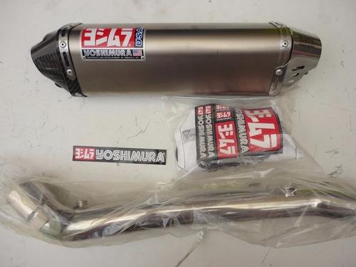mofle pipeta exhosto yoshimura trc titanio+carb 200-1000cc