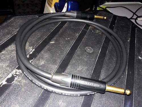 mogami / neutrik - cable de parlante