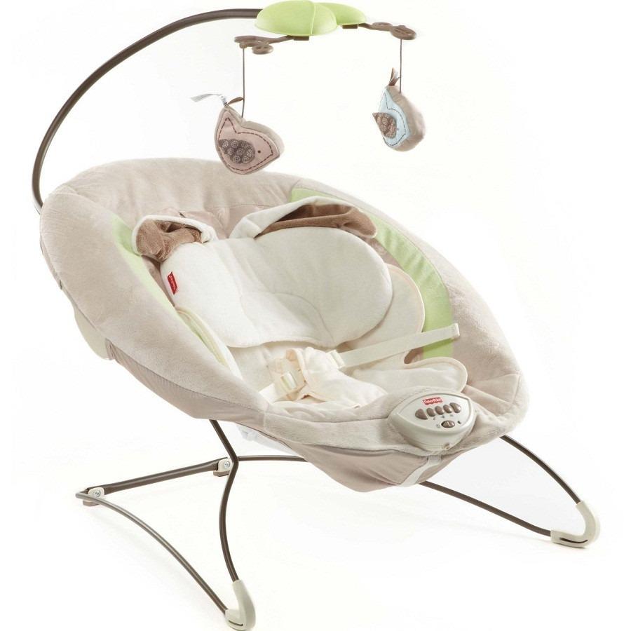 moises bebe recien nacido fisher price musical con vibracion