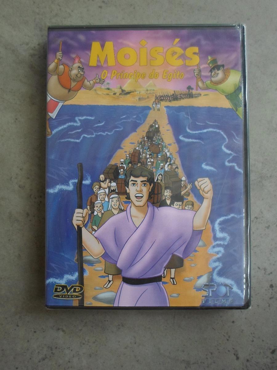 Moises Dvd O Principe Do Egito Desenho Lacrado R 35