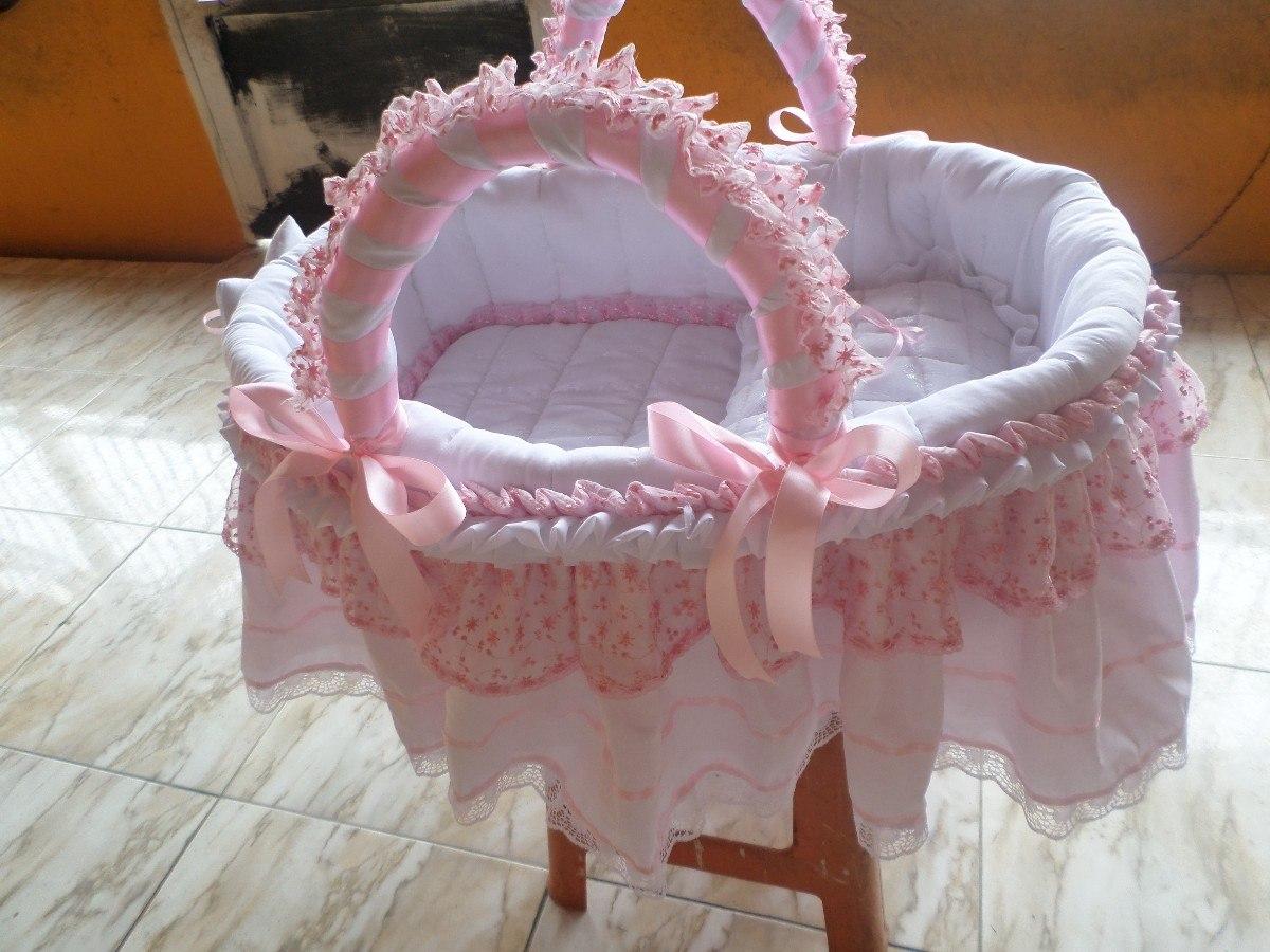 Moises para bebe variados n colores y modelos spectaculares bs en mercado libre - Decorar cestas de mimbre paso a paso ...