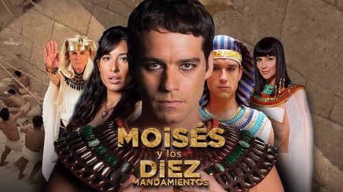 moises y los diez mandamientos las 2 temporadas juntas dvds