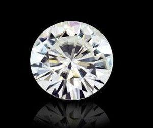 moissanita color h 1.37 ct. mas brillante que el diamante