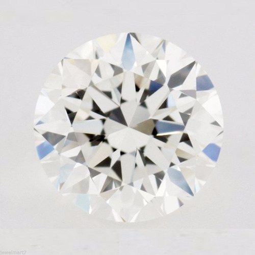 moissanita color h  .55 ct. mas brillante que el diamante