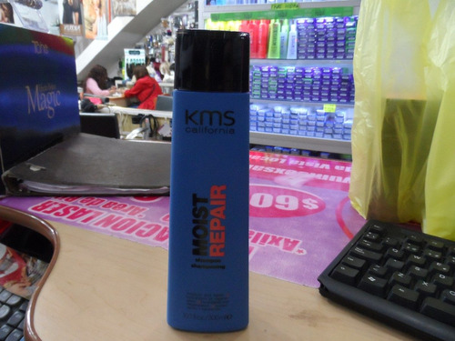 moister repair shampoo kms california 300ml. envio gratis
