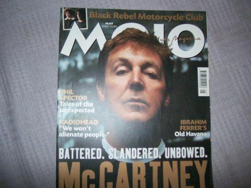 **mojo magazine **(beatles, paul mccartney, radiohead))**