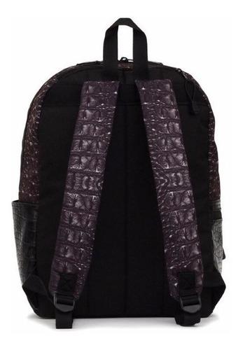 mojo mochila black dragon backpack polyester backlight table