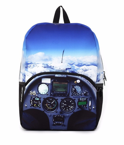 mojo mochila mile high cockpit backpack polyester backlight