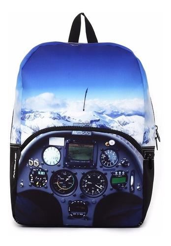 mojo mochila mile high cockpit backpack polyester backlight