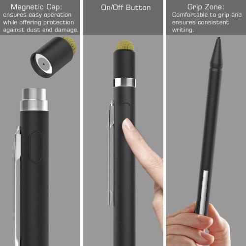moko universal pen active stylus, 2in1 high-precision 1.5mm