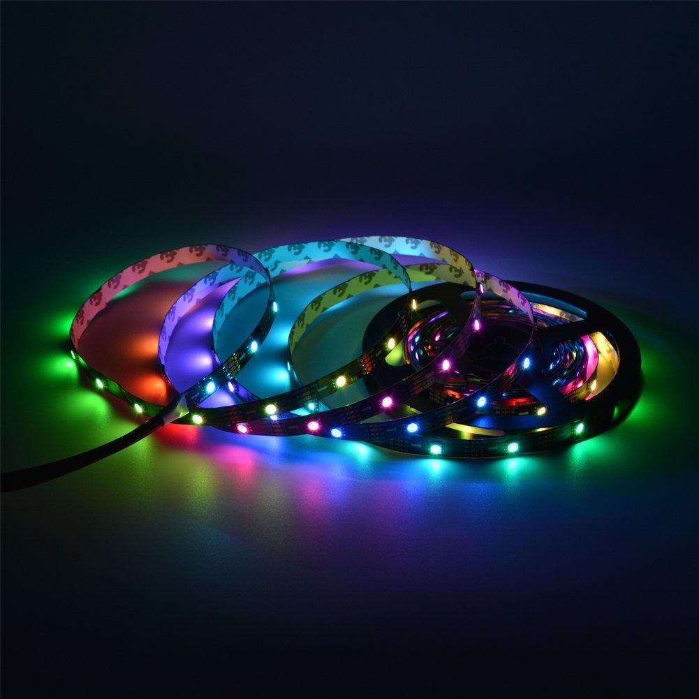 Mokungit apa102 led strip lights 164ft 5m apa102 c tira cargando zoom aloadofball Choice Image