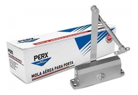 mola aérea hidráulica + kit porta de vidro - perx