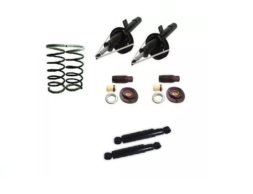mola amortecedor dianteiro  + kits peugeot 206 207