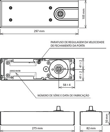 mola de piso hidraulica meron mhp substitui a dorma bts75