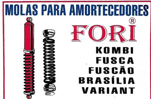 mola para amortecedor dianteiro e traseiro do fusca/brasilia