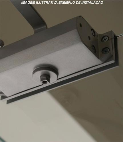 mola para porta de vidro aérea soprano com suporte forca 4