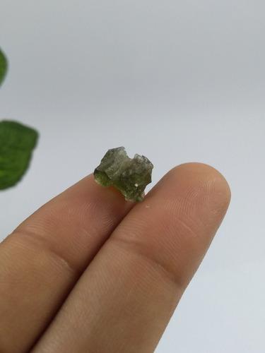 moldavita mineral para coleção j 144