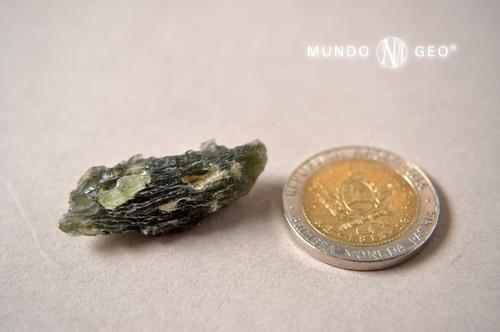 moldavita primera calidad rep. checa pieza de colección
