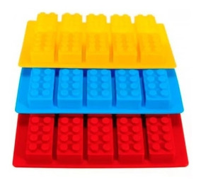 d1b65974dac6 Molde 10 Cavidades Lego Rastri Silicona Bombones Chocolate