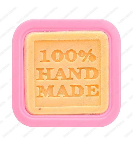 molde 100% hand made de silicón jabón velas chocolate