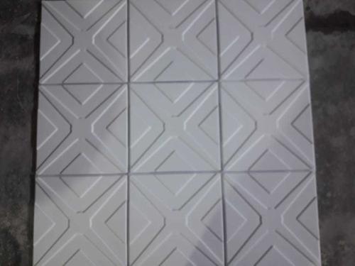 molde 3d placas antihumedad revestimiento 40 x 40 simétrico