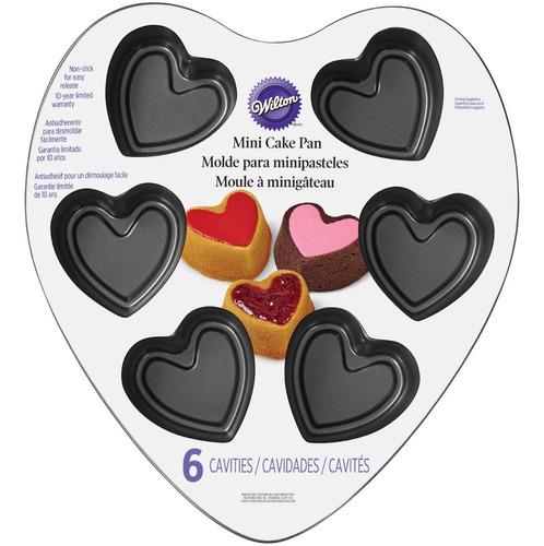 molde 6 cav. corazon san valentin wilton 2105-5496