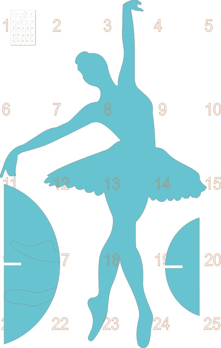 Fotos de bailarinas de ballet para imprimir