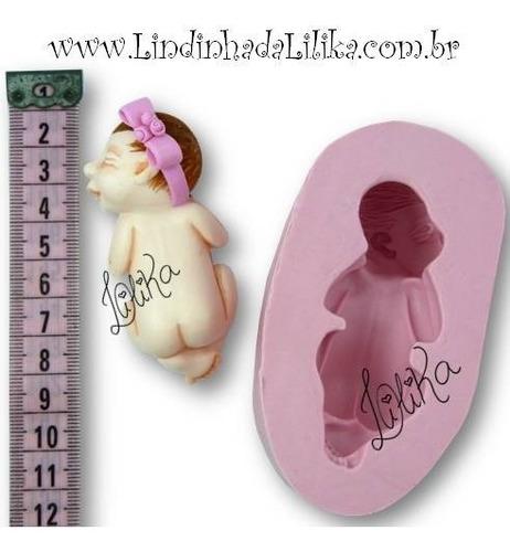 molde bebê recém nascido bumbum para cima