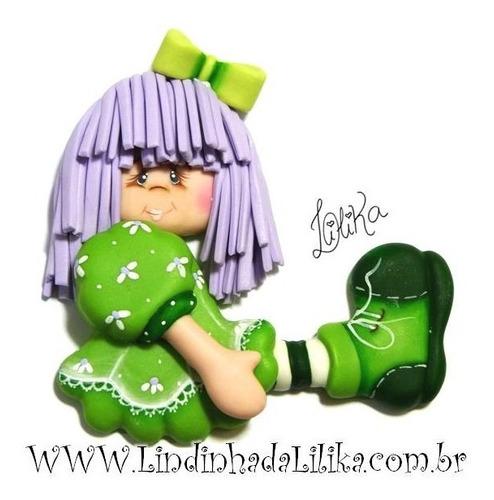molde boneca grande de lado