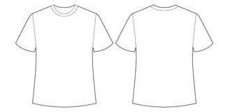 Molde Camiseta Básica Arq Digital Qualquer Formato Cdrpdf