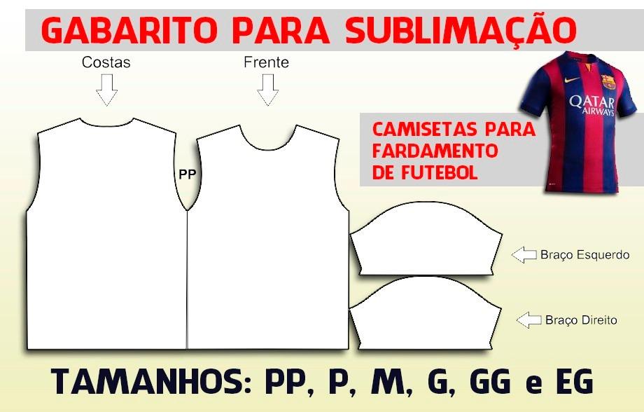 molde camiseta masculina vetor p  sublimação (p  fardamento). Carregando  zoom. 8be34f3d86bcc